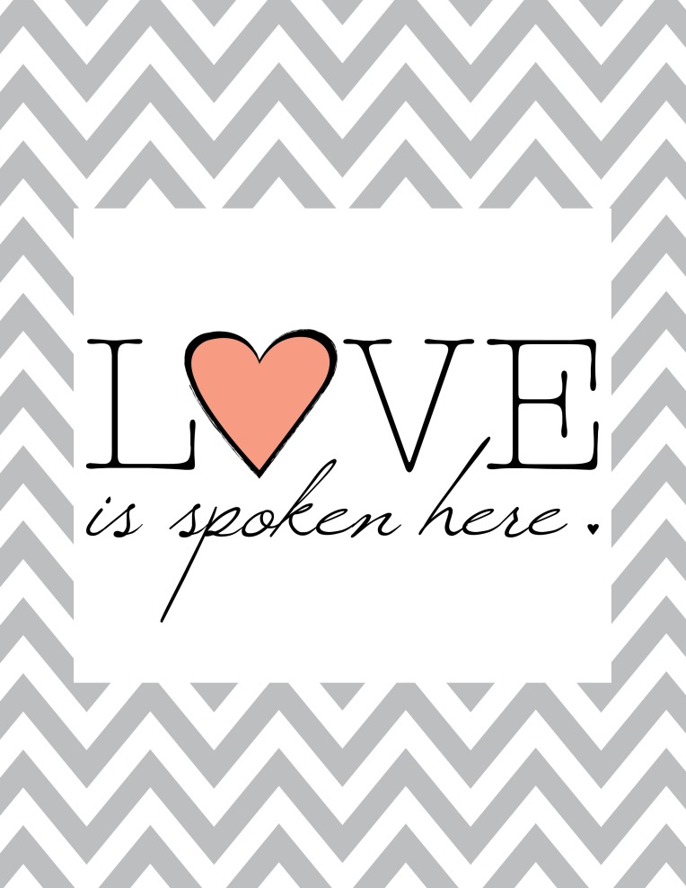 Love should be spoken everywhere!