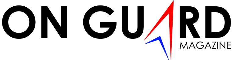 Logo/Header created for On Guard Magazine.