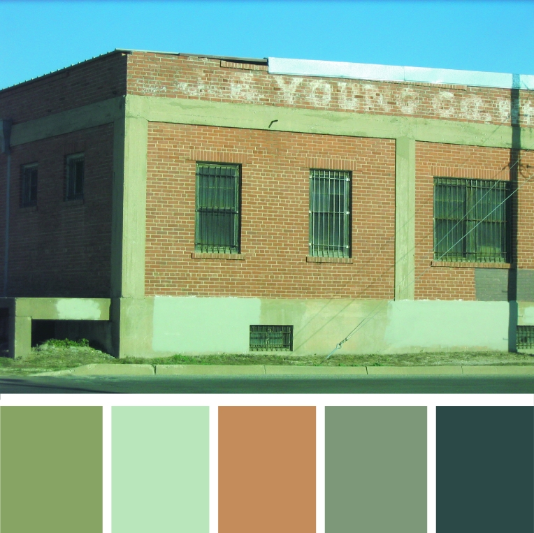 texas building color palette